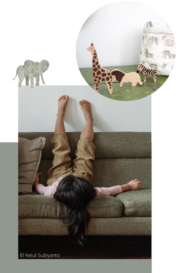 Collection SAVANE - Jouet peluche animaux