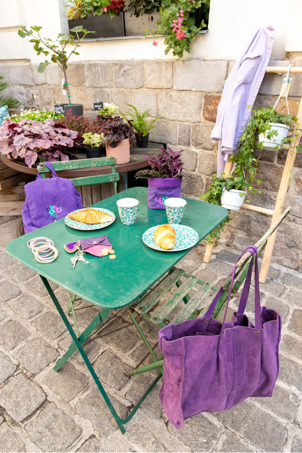 Collection Purple Gipsy - Vaisselle en mélamine