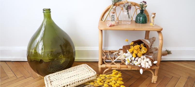 Vase, fleurs