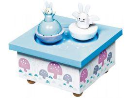 trousselier-boite-a-musique-ange-lapin-bleu
