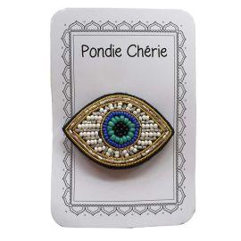 PONDIE CHERIE - Broche oeil