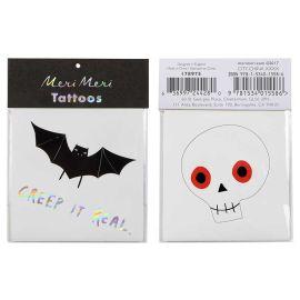 MERI MERI - 2 tatouages squelette
