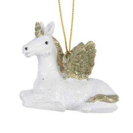 Licorne blanche à suspendre
