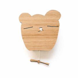 Boite musicale ours en bois