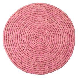 RICE - Set en raphia rose
