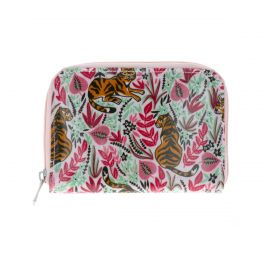 KISS LOVE FROM - Portefeuille tigre rose
