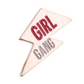 SASS & BELLE - Pin's girl power