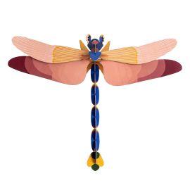 Trophée libellule géante