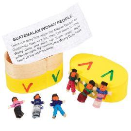 REX LONDON - 6 poupées à soucis du Guatemala