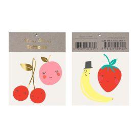 MERI MERI - Tattoos temporaires fruits