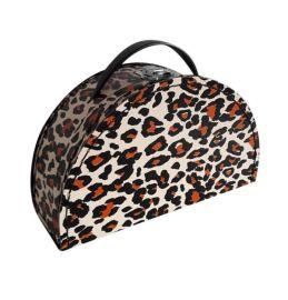 Valisette motif léopard