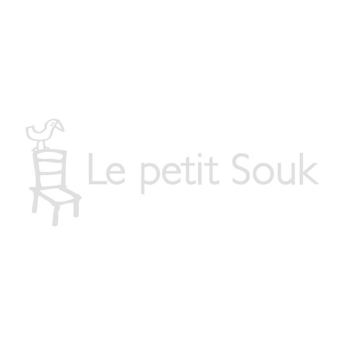Coussins bandes vertes et bleues Bonheur du jour x Le petit souk