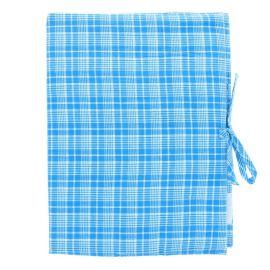 Protège carnet de santé carreaux bleus Bonheur du jour x Le petit souk