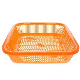 Panier plat orange Pondie Chérie