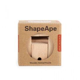 Robot cube en bois