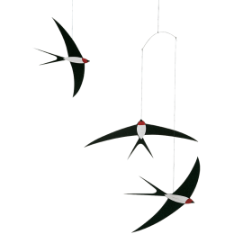 Mobile vol d'hirondelles