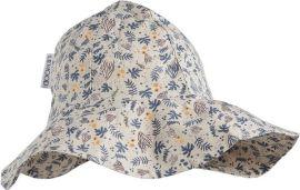 Chapeau de soleil fleurs et coraux Liewood