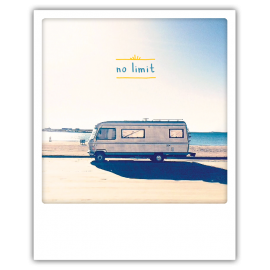 Carte postale polaroid no limit