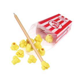 12 petites gommes pop corn