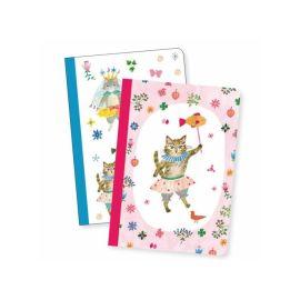 Lot de 2 cahiers Aiko chat