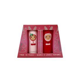 Duo de baumes à lèvres parfumés