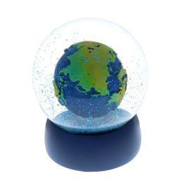 Boule à neige planète terre