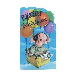 Livre jeunesse vintage Porcelet l'intrépide