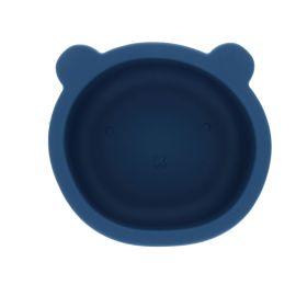 Bol ours silicone bleu