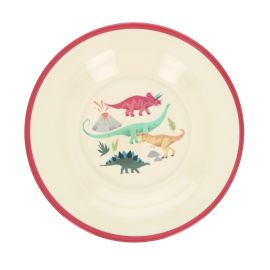Assiette mélamine dinosaure