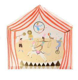 Assiettes en carton theme cirque