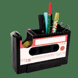 Rangement de bureau cassette audio