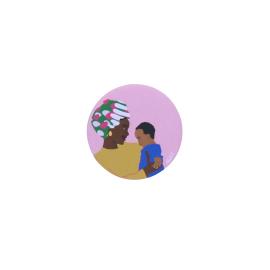 Badge mère et fils