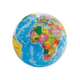 Balle anti stress globe