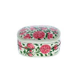 Boîte rectangulaire à fleurs