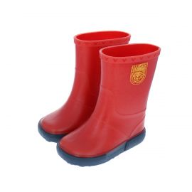 Bottes de pluie enfant rouge et bleu