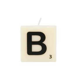 Bougie lettre B