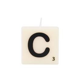 Bougie lettre C
