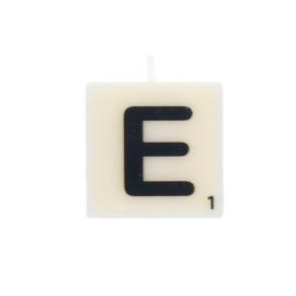 Bougie lettre E