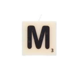 Bougie lettre M