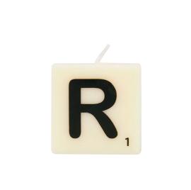 Bougie lettre R