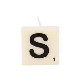 Bougie lettre S