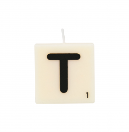 Bougie lettre T