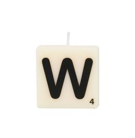 Bougie lettre W