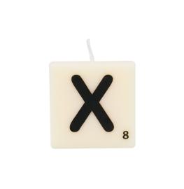 Bougie lettre X