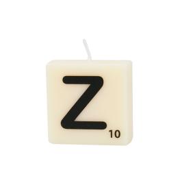 Bougie lettre Z