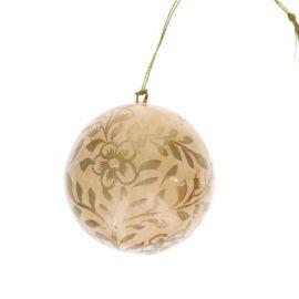 Boule de Noël nude et doré