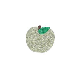 Broche pomme doree