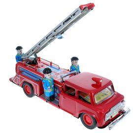 Camion de pompier en métal