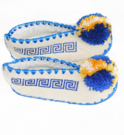 Chaussons naissance Otto taille 16