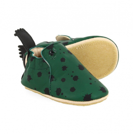 Chaussons sapin encre 0-6 mois